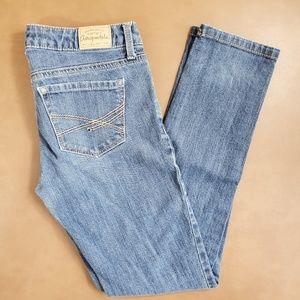 Aeropostale Ashley Ultra Skinny Jeans 1/2 Short
